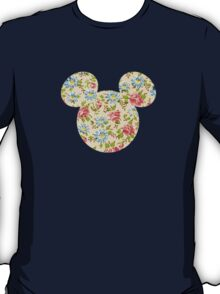 Floral Mouse Ears T-Shirt