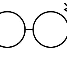 Simple Harry Potter Glasses and Scar by FrostSnake