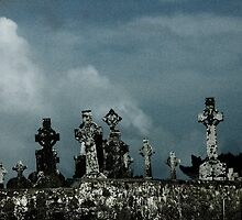Clonmacnoise Crosses by mackozer