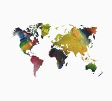New world map Kids Clothes