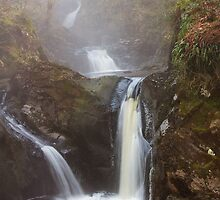 Many Waterfalls in the Mist by Duncan Payne