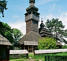 And ancient Ukrainian wooden church by YamatoHD