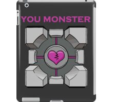 You Monster (dark) iPad Case/Skin
