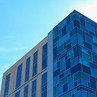 Building Meets Sky by Alex Baker
