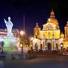 St. Nicholas Square, Siġġiewi, Malta. by M G  Pettett