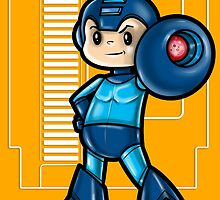 Mega Man by WarpZoneGraphic