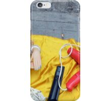 Doll on Yellow iPhone Case/Skin