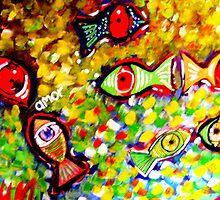PEZ-OJO ----FISH-EYES by gabrielgam