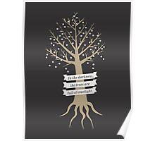 Trees Full of Starlight Poster