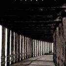 """""""Long Walk Under West Pier"""" by Bradley Shawn  Rabon"""