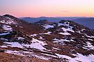 Mt Kosciusko Summit View, Australia by Michael Boniwell