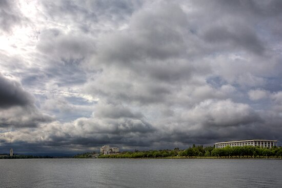 Lake Burley Griffin by Josh Boucher