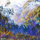 Winter Blues - (Near Seymour, Victoria) by Lynda Robinson