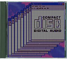 Compact Disk Jewel Case Photographic Print