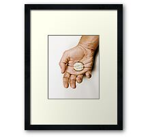 When Brownie was alive Framed Print