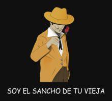 el Sancho Latino T-Shirt by chupacabras