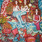 mermaids Treasure House   by catherine walker