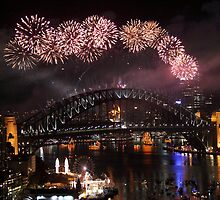 new years eve fireworks - sydney 2008-2009 by Expozed