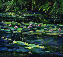 Monet's Garden at Giverny by Maureen Whittaker