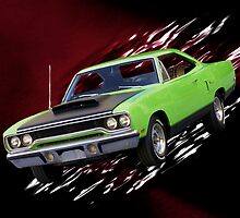 Road Warrior - 1970 Plymouth Roadrunner by TWindDancer
