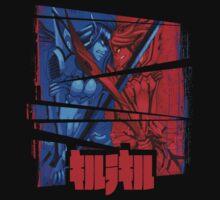 Satsuki vs Ryuko by AlexRoivas