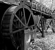 Old Grist Mill by SamClarkPhoto