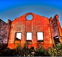 I'm Still Standing - Blast Furnace Park, Lithgow NSW- The HDR Experience by Philip Johnson
