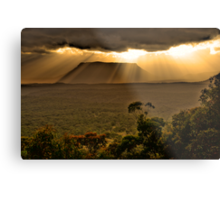 Let There Be Light - Capertee Valley - Gardens Of Stone National Park - The HDR Experience Metal Print