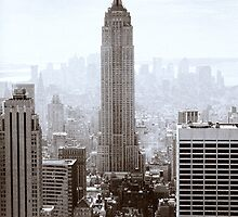 Empire State building by Chris Lawrenson