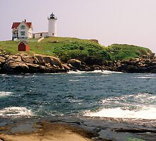 Cape Neddick (Nubble) Light, ME by mklue
