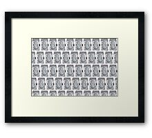 Camera Pattern 2.0 Framed Print