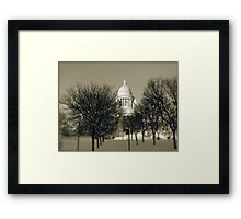 The Rhode Island State House in Providence © 2008  *featured top 3 of 21 Framed Print