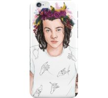 Harry Floral Crown iPhone Case/Skin