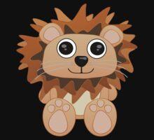 Bay-Bay Lion Tee by BluAlien