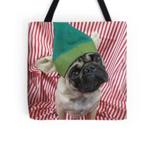 Green Puggy Pixie Tote Bag