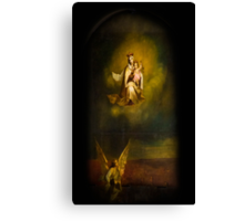 Heavenly Madonna and Child Canvas Print
