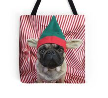Red Puggy Pixie Tote Bag