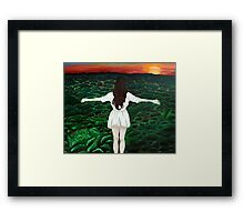 Horizon's Point Framed Print