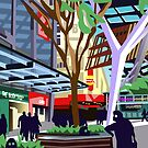 Queen St Mall, Brisbane (Version 1) by GaffaUK