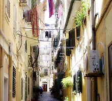 Down the many lanes of Corfu Town by fruitcake