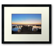 From Here They Lept Into Space Framed Print