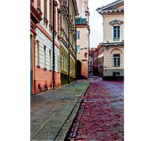 Cozy Old Town Photographic Print
