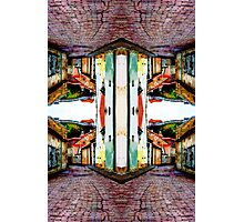 Old Town Stories Art 1 Photographic Print