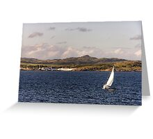 Islay: Sailing with Laphroaig Greeting Card