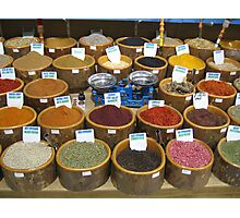 Scales and Spices Photographic Print