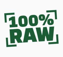 100% Raw food by Designzz