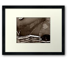 Sleeping Cadillac Framed Print