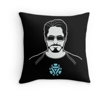 Tony Stark Throw Pillow
