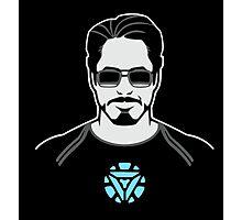 Tony Stark Photographic Print