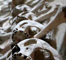 Kutna Hora Skulls by heckmatic